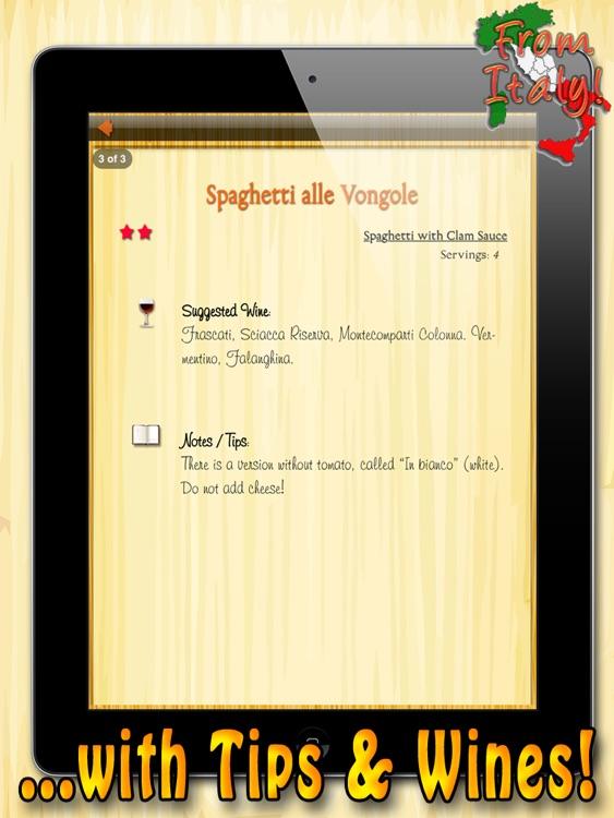 La Pasta HD – All the Best Italian Pasta Recipes screenshot-4