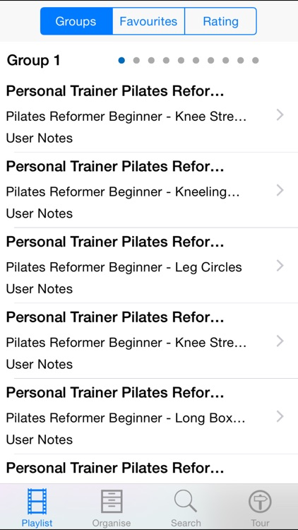 Personal Trainer Pilates Reformer screenshot-1