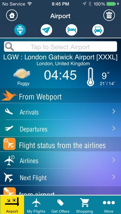 Gatwick Airport Pro (LGW) Flight Tracker Radar all London airports