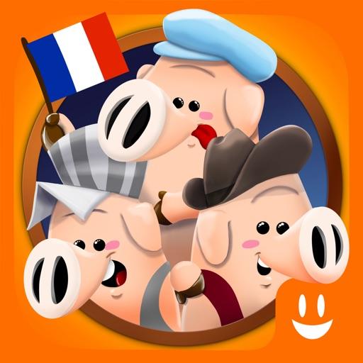 Trois Petits Cochons: Histoire & Jeux