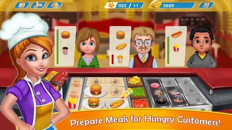 Kitchen Fever Burger Shop screenshot-3
