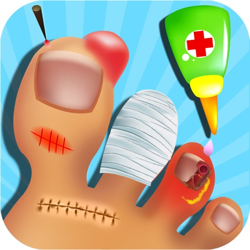 Nail Doctor - Toe Nail Surgery, Kids free games for fun
