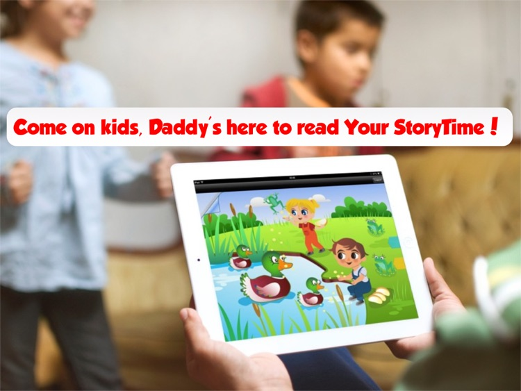 Your StoryTime: Never miss story time for moms, dads and baby