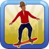 Jumpy Happy Skateboard - Jump, Move, Jack, Stack Your Paper and Make it Rain