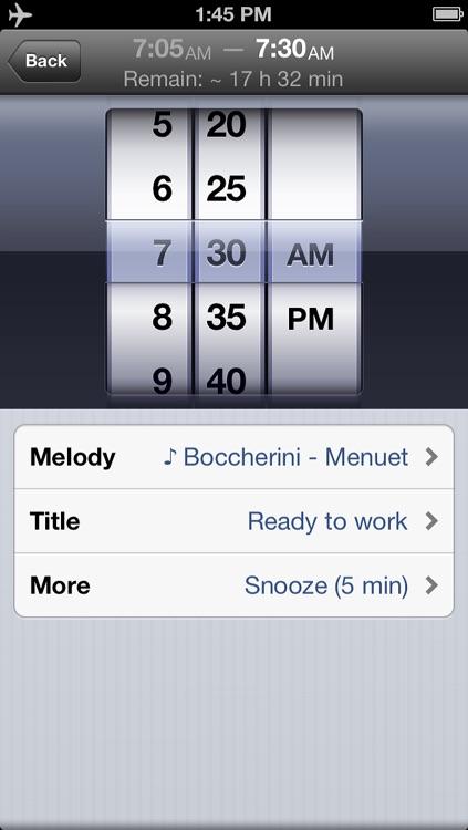 Absalt EasyWakeup Classic - smart alarm clock (easy wake up)