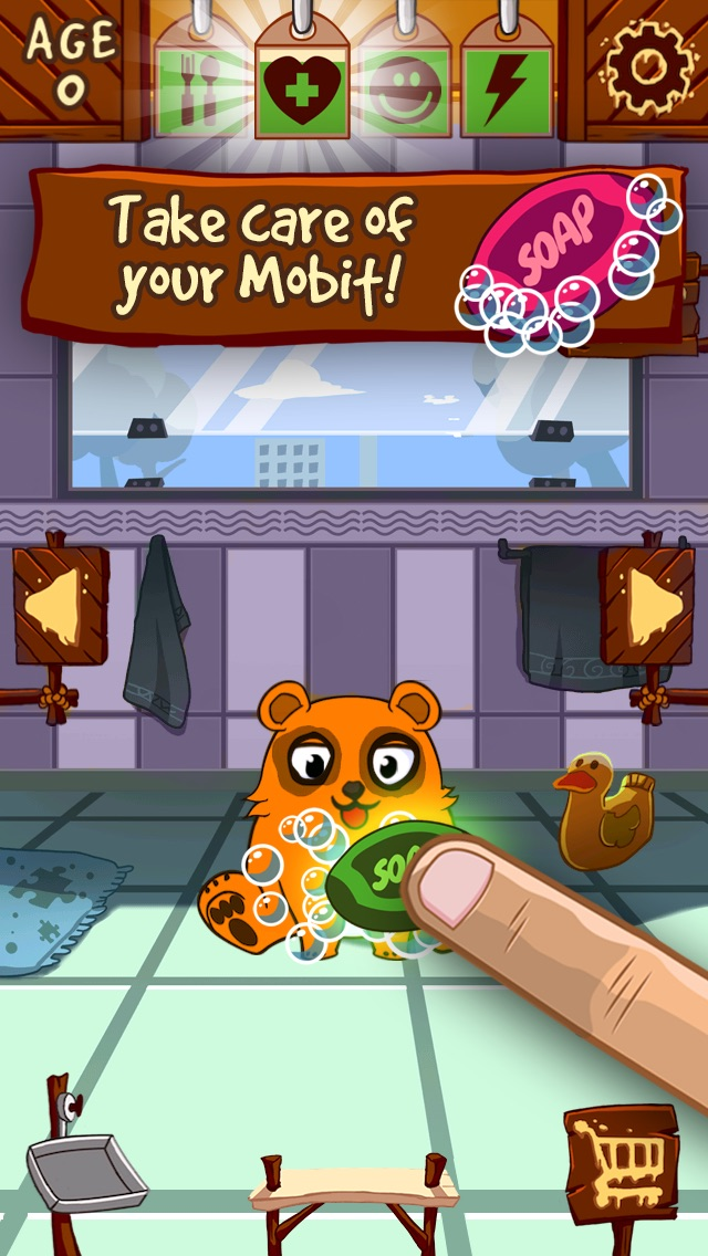 My Mobit - Virtual Pet Monster to Play, Train, Care and Feed hack tool
