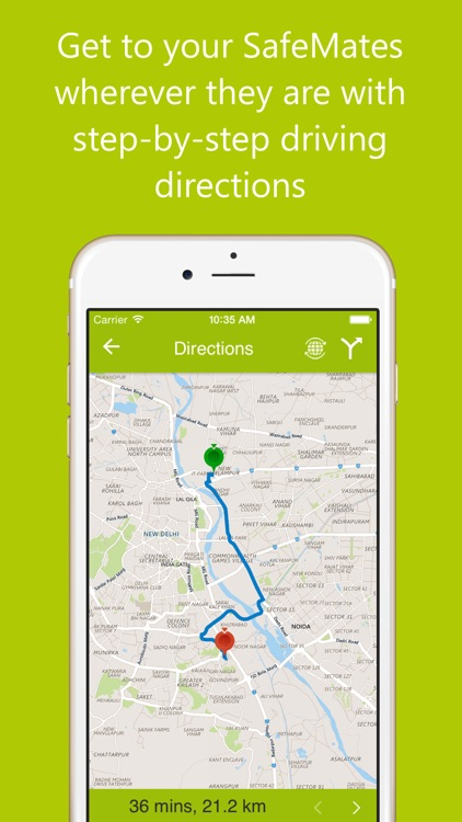 SafeMate: Real time location of your loved ones screenshot-3