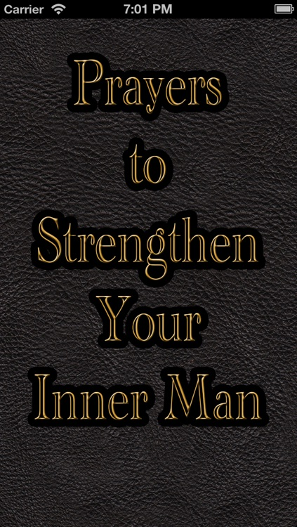 Prayers to Strengthen Your Inner Man