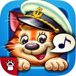 Котёнок-Моряк. Счет от 1 до 5 — обучающая песенка-игра с анимацией и караоке. ПОЛНАЯ ВЕРСИЯ