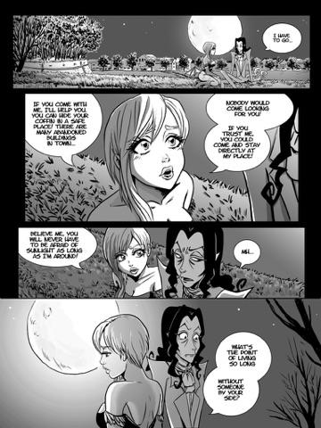 Dating a vampire comic