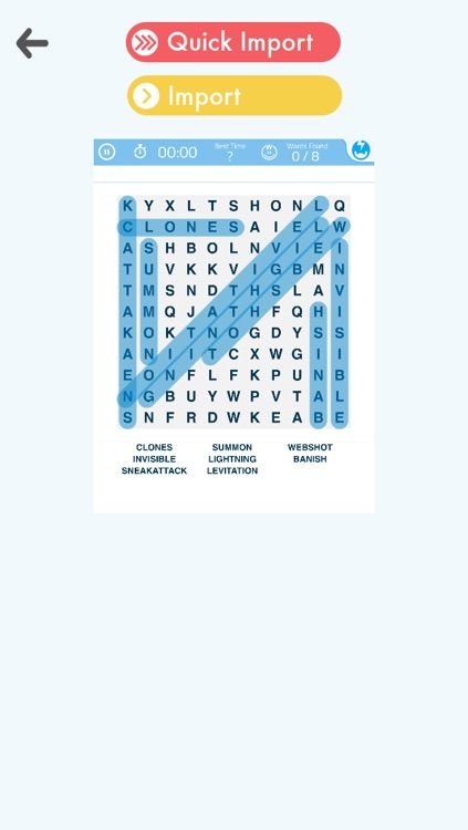 Cheats for Word Search Puzzles!