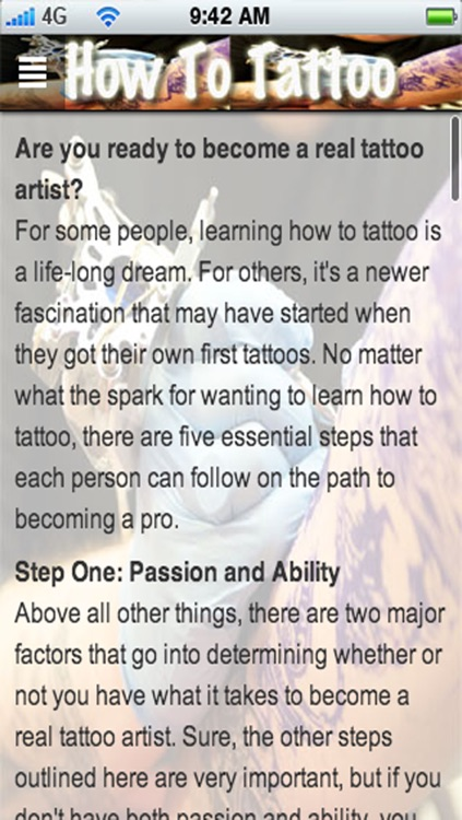 How To Tattoo: Become a Tattoo Artist & Learn How To Tattoo! screenshot-4
