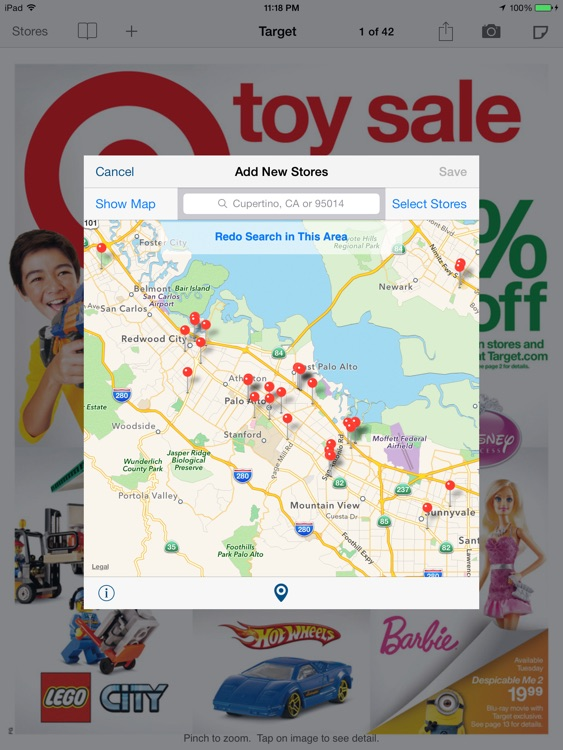 Weekly Circulars, Sales, Deals & Coupon Savings, Ads for Shopping at Target, Walmart, Macy's, Walgreens, Costco, Kmart for iPad screenshot-4