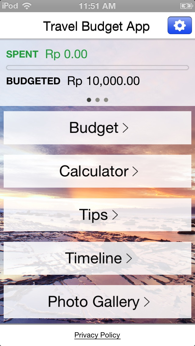 Indonesia Travel App iPhone