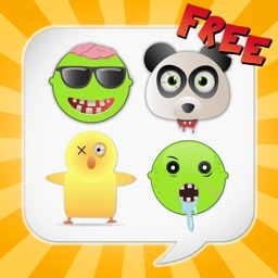 Zombiemoji Free: Send Zombie Themed Emoticons for Text + Messages