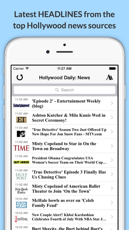 The Daily Planet Celeb!: Get the Latest News, Videos, Photos & More from Hollywood! screenshot-4