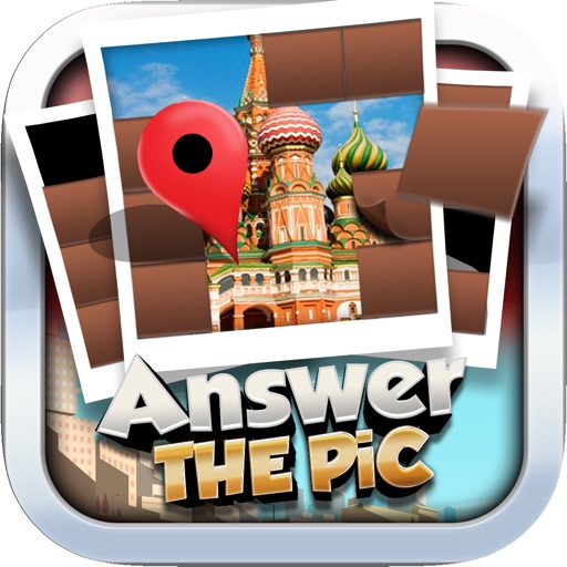Answers The Pics : Landmark of The World Trivia Reveal Photo Free Games