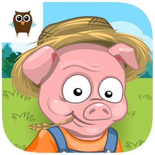 Happy Truffle Farm Piggies - Cheerful World of Farming