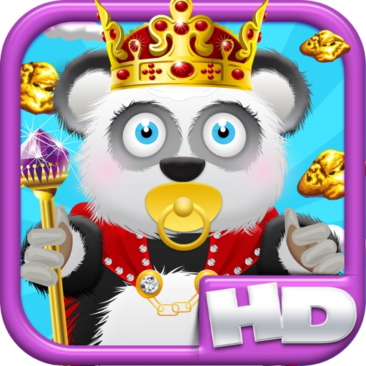 Baby Panda Bears Battle of The Gold Rush Kingdom HD - A Castle Jump Edition FREE Game! icon