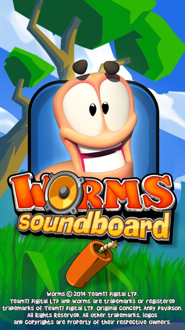 Worms Soundboard Screenshot