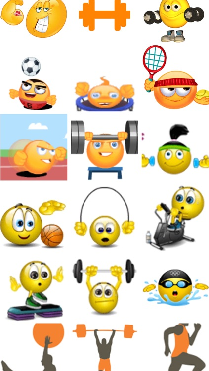 Fitness Emojis screenshot-0