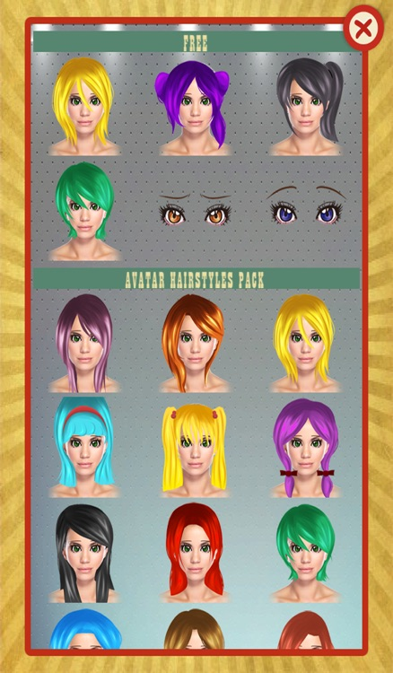 Avatar Girl Creator screenshot-3
