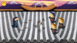 A Block Ninja Run - Fortress Escape Adventure (8-bit style) Game HD Free screenshot two