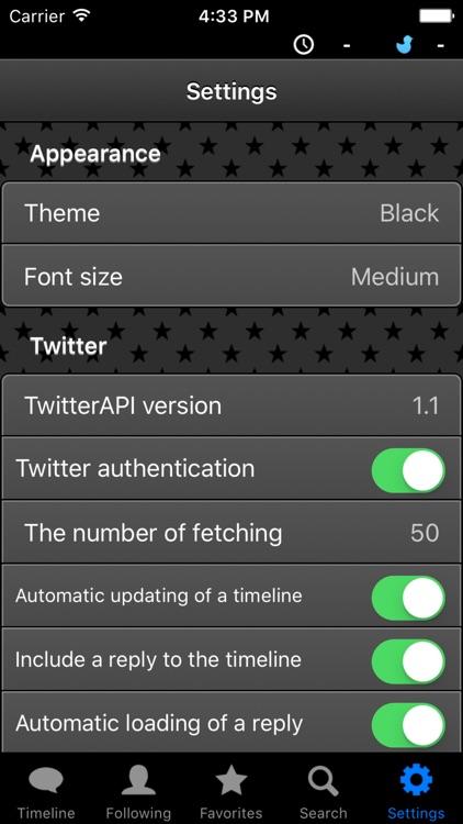BlackBird -Anonymous Twitter client- screenshot-3