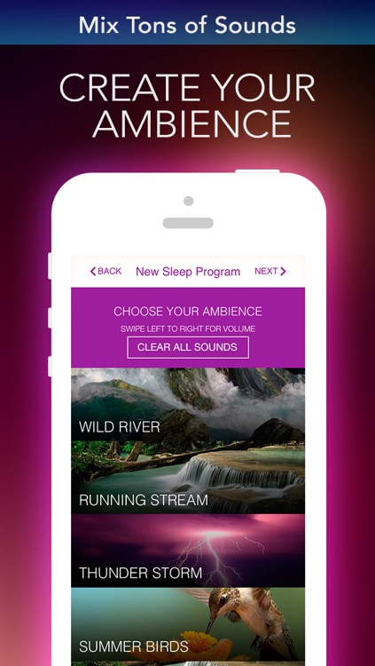 Alarm Clock Sleep Sounds Free: Guided Meditation for Relaxation Cycle, Hypnosis and insomnia screenshot-4