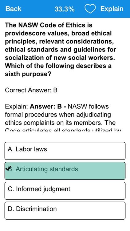 Social Work Master's Test Prep