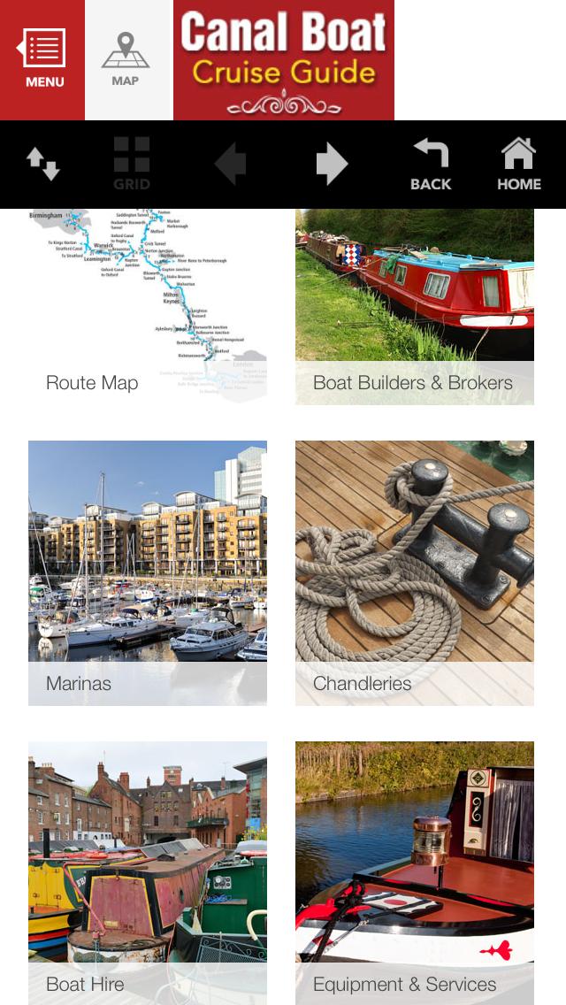 Canal Boat Cruise Guide screenshot two