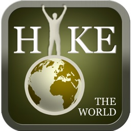 Hike the World - GPS Tracker for Outdoor Fitness, Running Biking Walking Cycling & Adventure Travel