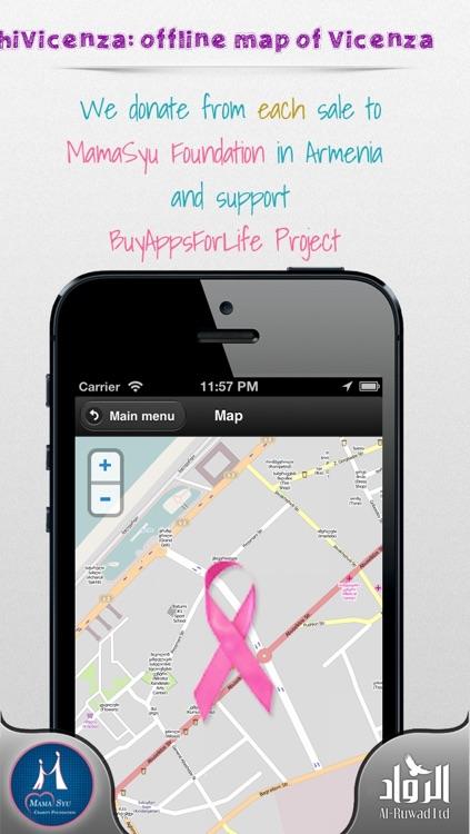 Vicenza Offline Map from hiMaps:hiVicenza screenshot-3