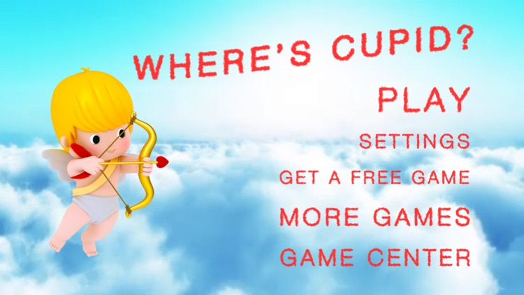 Where's Cupid? Find him on time for Valentine's Day on February 14, 2014