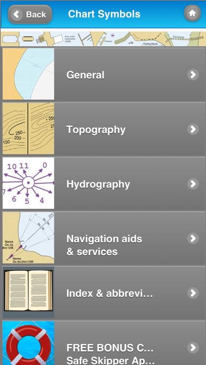 NAUTICAL CHART SYMBOLS & ABBREVIATIONS screenshot-3