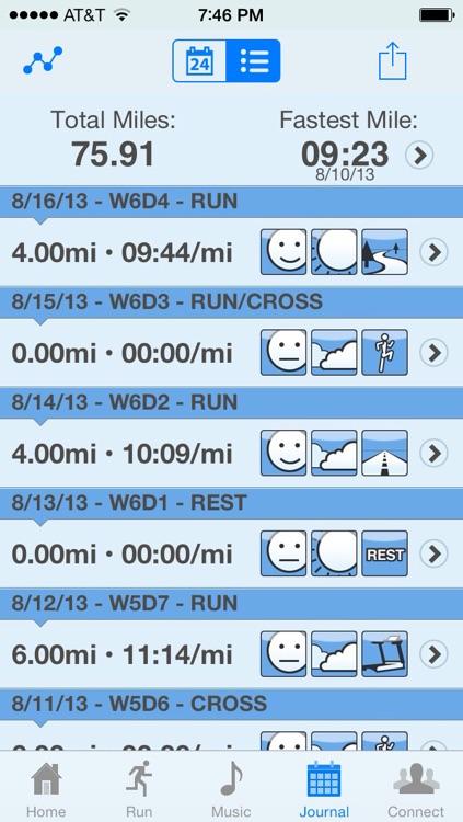 Hal Higdon Marathon Training Program - Novice 2 screenshot-3