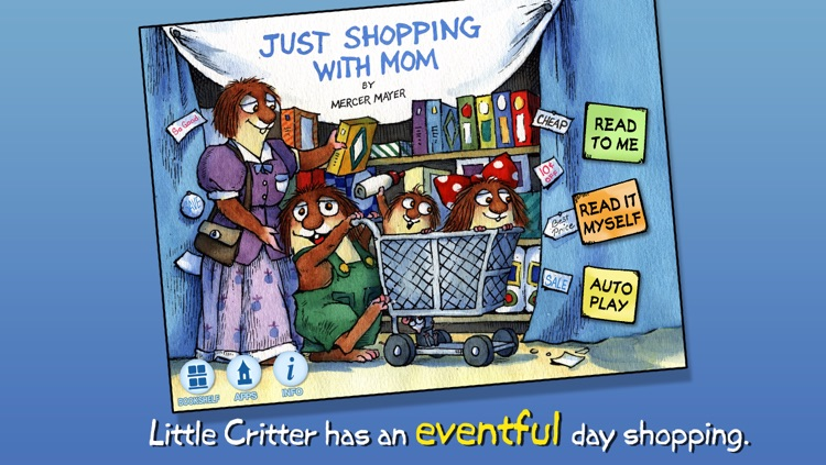 Just Shopping with Mom - Little Critter