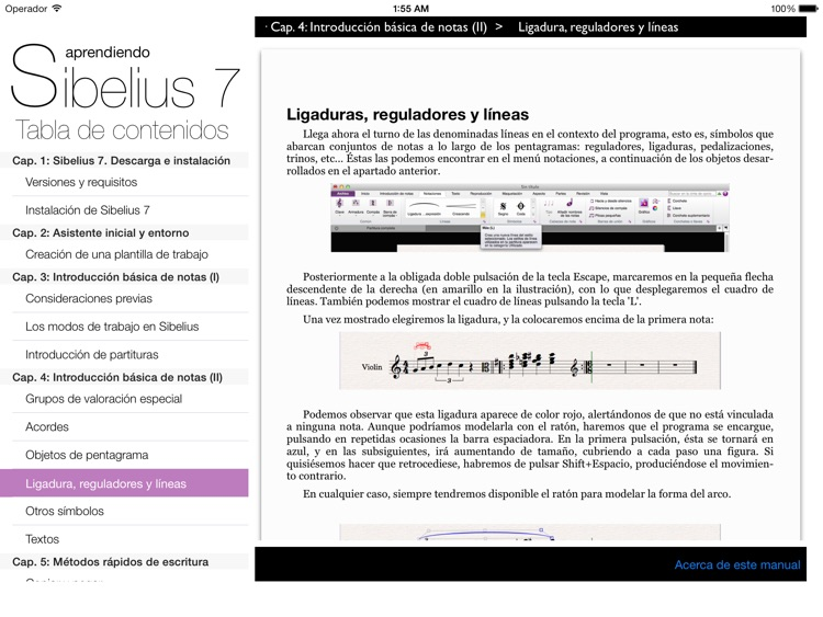 Aprendiendo Sibelius 7 screenshot-2