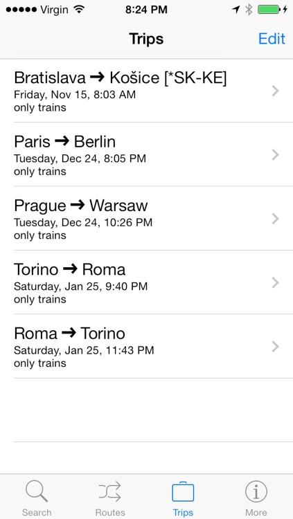 Train & Bus ~ Europe screenshot-4
