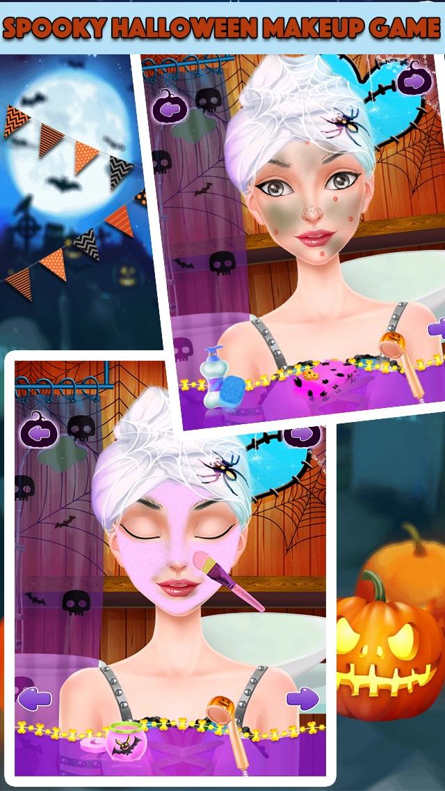 Halloween Makeover & Salon screenshot one