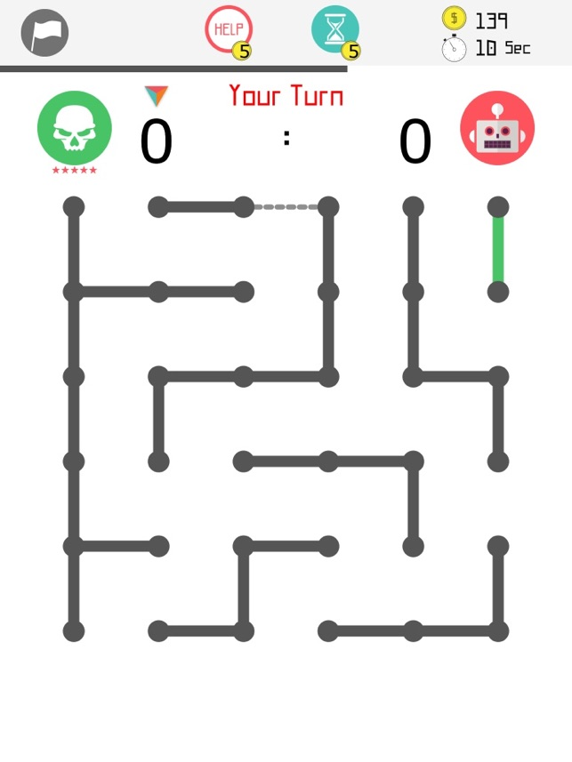 4our Dots - Dots and Boxes Screenshot