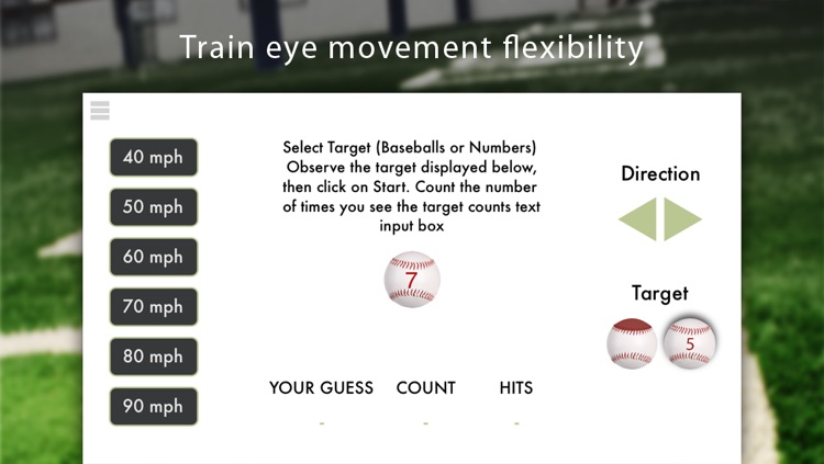 Baseball Vision Training