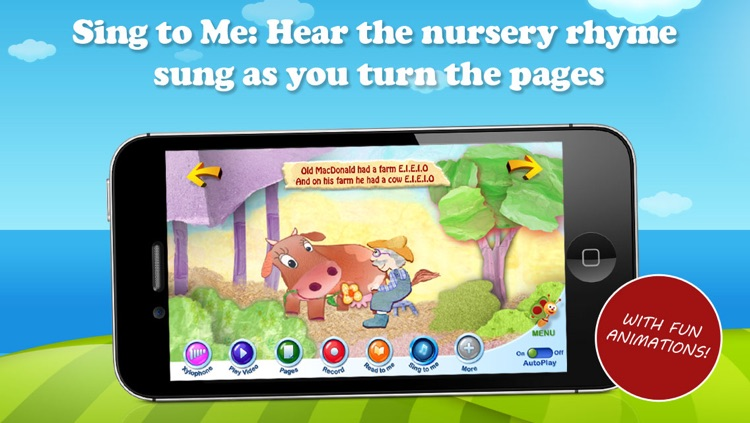 Old MacDonald Song Book – by BabyTV screenshot-0