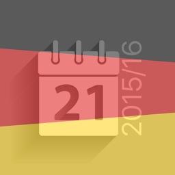 Scheduler - Deutsche Fußball Bundesliga 2015-2016