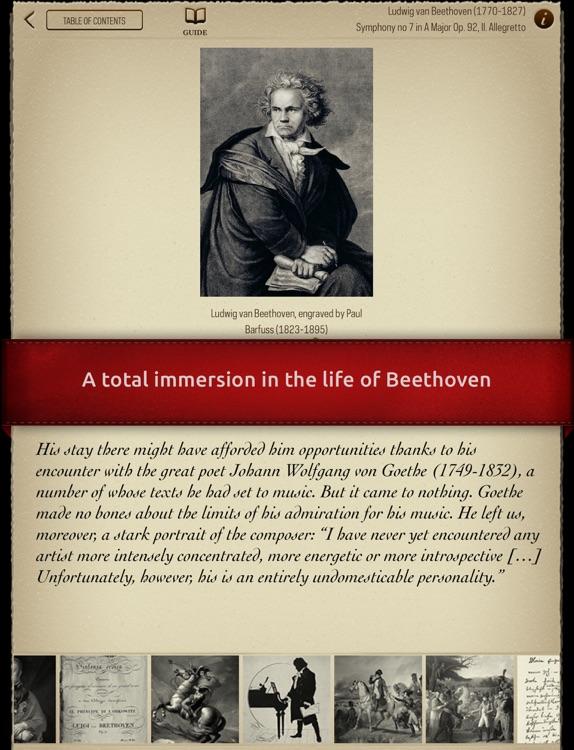 Play Beethoven – Piano Concerto No. 5, 2nd movement (interactive piano sheet music) screenshot-3