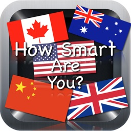 How Smart Are You? Country and Territory Flags Edition - A Flag Logo Memory Concentration Trivia Quiz Game Free: From the creator of The Moron Quiz / Test - Similar to 4 pics 1 word apps