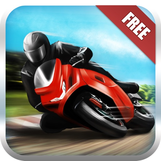Motorcycle Fury! Race Track Highway Racing Game FREE