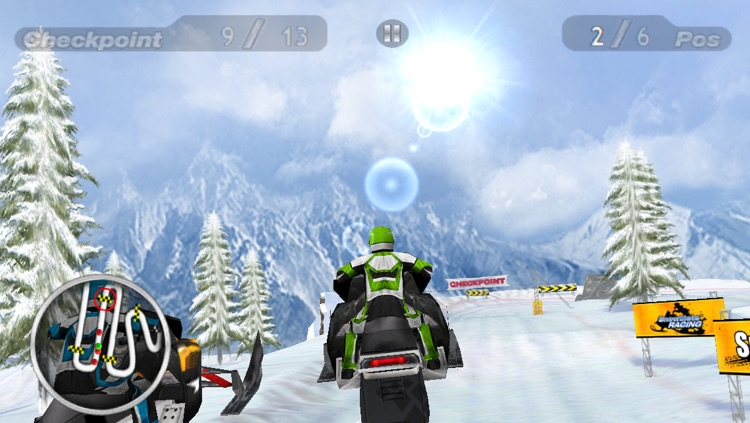 Snow Moto Racing screenshot-3