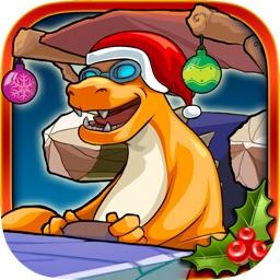 Christmas Dinosaur Race Adventure