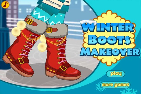 Winter Boots Decor : Shoes Design And Makeover screenshot 1